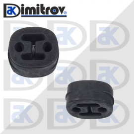 Тампон ауспух Audi A3 A4 Ford Transit Connect Nissan Almera Opel Vectra Seat Altea Leon Skoda Octavia Volkswagen Caddy Golf Passat Touran