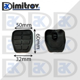 Гумичка педал Seat Arosa Cordoba Ibiza Inca Volkswagen Caddy Golf Polo