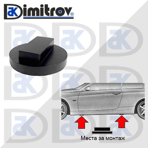 Стъпенка на прага за крик BMW i3 i8 1 2 3 4 5 6 7 X Z4