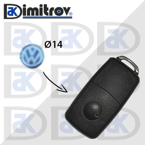 Емблема за ключ Volkswagen