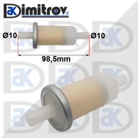 Горивен филтър бензин Ø10 х Ø10 х 98,5 mm