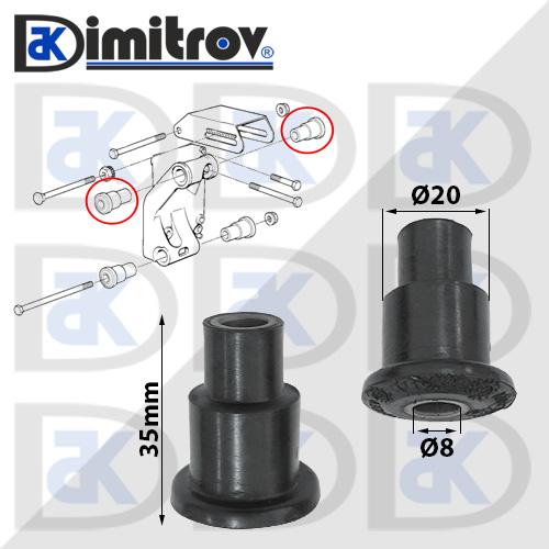 Тампон динамо алтернатор BMW 3 (E30) (E36) 5 (E34)