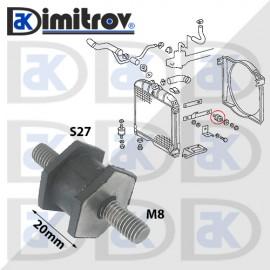 Тампон кутия въздушен филтър Mercedes Atego Capacity Citaro Conecto LK/LN2 O301 O303 O309 O402 O405 OH Series Unimog