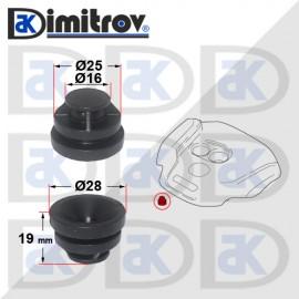 Тампон капак на мотора Mazda 3 6 CX-3 CX-30 CX-5 CX-9