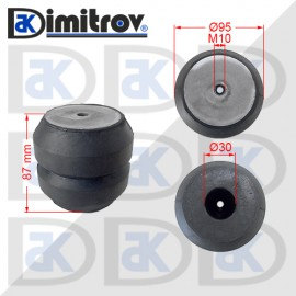 Буфер тампон M10 x Ø95 х 87 mm