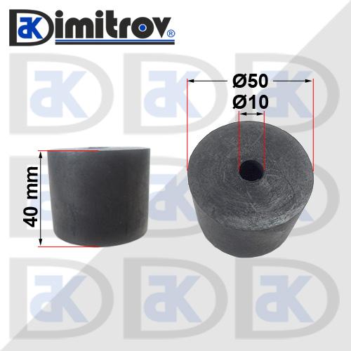 Буферен тампон Ø10 х Ø50 х 40 mm