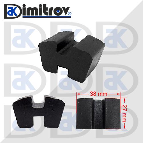H - съединител 38 х 27 mm