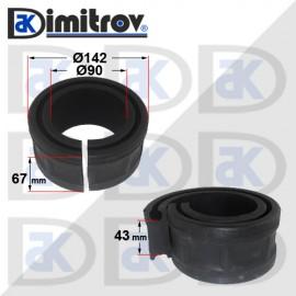 Тампон между навивки на пружина - 43 mm