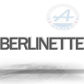 ALPINE BERLINETTE