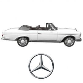 W112 HECKFLOSSE / FINNY CONVERTIBLE, 1962-1967