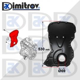 Капак на ангренажен ремък за Citroen Jumper Fiat Ducato Peugeot Boxer