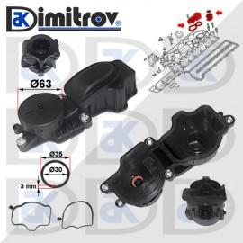 Клапан картерни газове BMW 1 (E87) 3 (E46) (E90) (E91) 5 (E60) (E61) X3 (E83)