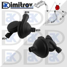Клапан картерни газове BMW 1 (E87) 3 (E90) (E91)