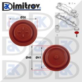 Мембрана клапан картерни газове Ford C-max Fiesta Focus