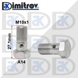 Болт холендров M10x1 - 27,1 mm