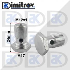 Болт холендров M12x1 - 24 mm