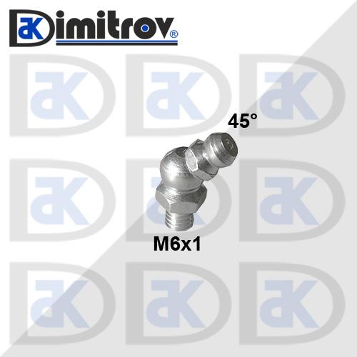 Гресьорка M6 45° - ъглова