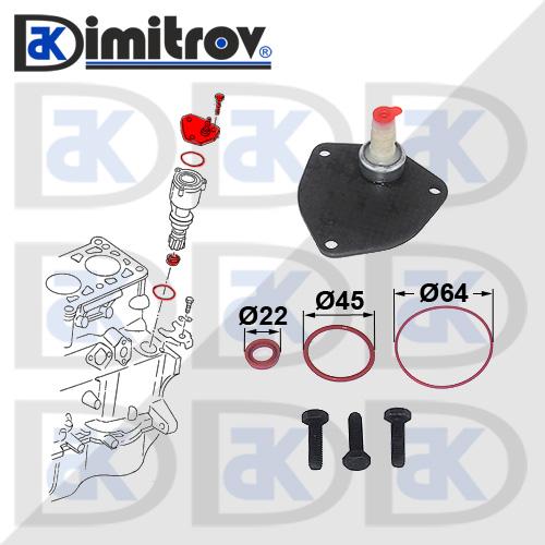 Ремонтен комплект вакуум помпа спирачна система Seat Alhambra Arosa Cordoba Ibiza Inca Toledo