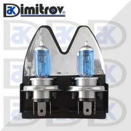 Крушка H4 60/55W 12V Cool Blue