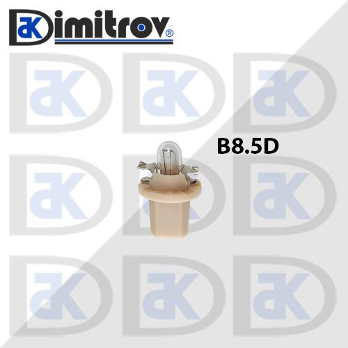 Крушка табло B8.5D бежов