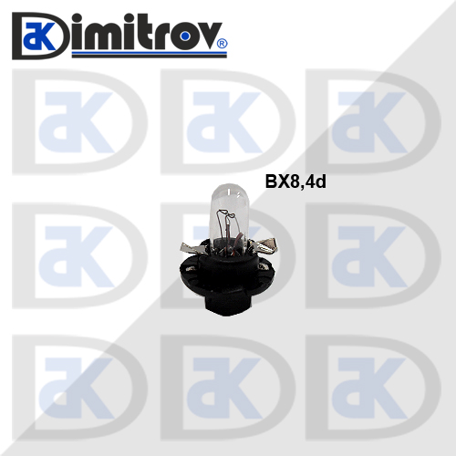 Крушка табло BX8.4D за SEAT Cordoba Ibiza Inca Leon Toledo