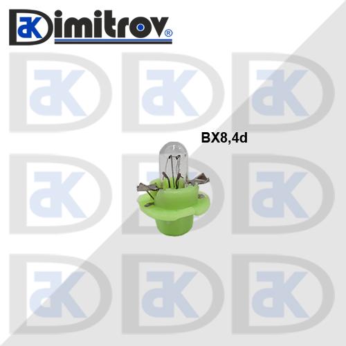 Крушка табло BX8.4D за SEAT Cordoba Ibiza Inca