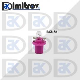 Крушка табло BX8.5D лилав