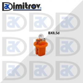 Крушка табло BX8.5D оранжев