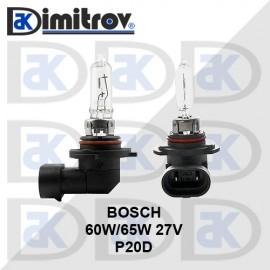 Крушка 12V 60W/65W P20D HB3