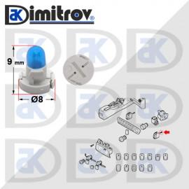 Фасунга крушка индикаторна светлина Volvo S60 S80 V70 XC90