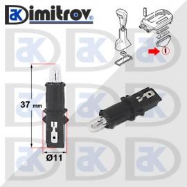 Фасунга крушка индикаторна светлина Volvo 850 940 960 C70 S70 S80 V70