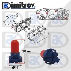 Фасунга крушка индикаторна светлина Mitsubishi Lancer Cedia