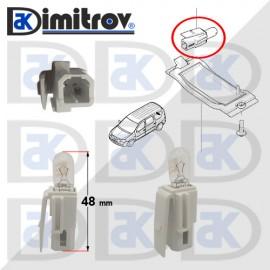 Фасунга крушка индикаторна светлина Dacia Logan Sandero Logan MCV