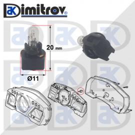 Фасунга крушка индикаторна светлина Honda Accord Civic CR-V CRX Odyssey Prelude S2000