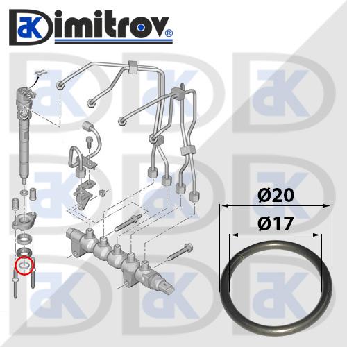 Зегерка инжектор Peugeot 1007 2008 206 207 208 3008 301 307 308 407 5008 508 Expert Partner