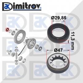 Семеринг диференциал Ø29,85 х Ø47 х 11,3 mm Volvo C30 S40 S60 S80 V40 V50 V60 V70