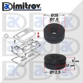 Уплътнение декоративен капак двигател BMW 5 (E60) (E61) 6 (E63) (E64) 7 (E65, E66, E67) X5 (E53) (E70)