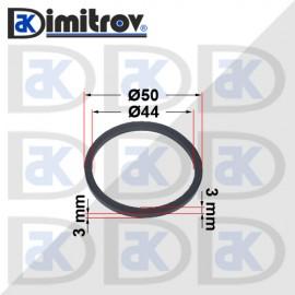 Семеринг правоъгълно сечение Ø44 x Ø50 x 3 / 3 mm