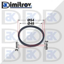 Семеринг правоъгълно сечение Ø48 x Ø54 x 3 / 3 mm