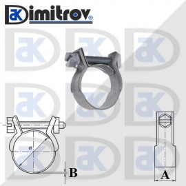 Скоба мини Ø 10 - 12 мм