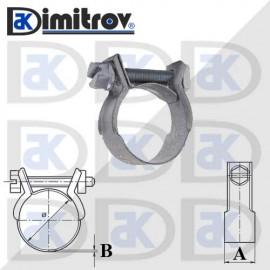 Скоба мини Ø 15 - 17 мм