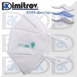 Маска за лице KN95 ≥ 95% защита